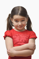 Little Girl with a Doubtful Expression