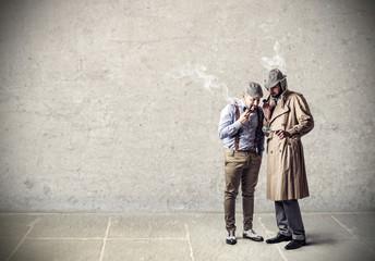 smoking detectives