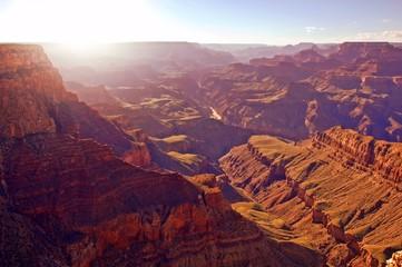 Fototapete - Beautiful sunset over the Grand Canyon, Arizona, USA