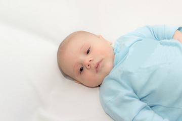 babe in a blue shirt