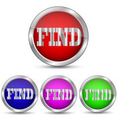 векторная кнопка FIND