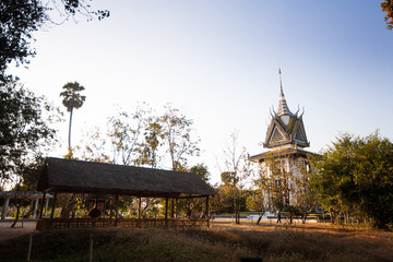 The Killing Fields of Choeung Ek in Phnom Penh, Cambodia