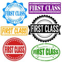 First class stamp set