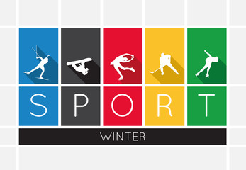 The winter sports