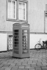 alte Britische Telefonzelle