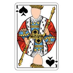 King playing card