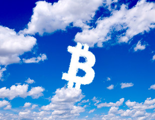 Bitcoin clouds