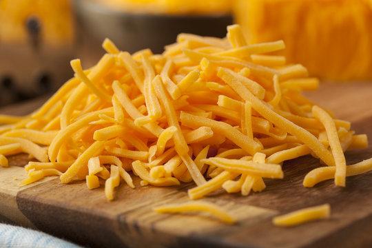 Organic Shredded Sharp Cheddar Cheese