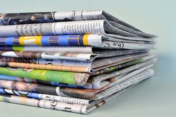 Zeitungen, Presse, Journalismus, Medien, Altpapier