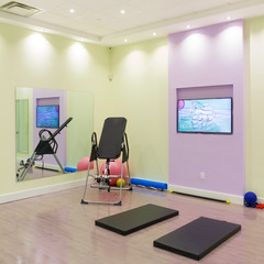 Gym Interior Design at  Healthcare Clinic