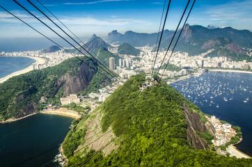Wall Mural - Blick vom Zuckerhut, Rio, Brasilien