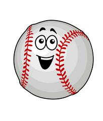 Fun happy baseball ball
