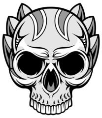 artistic skull 03