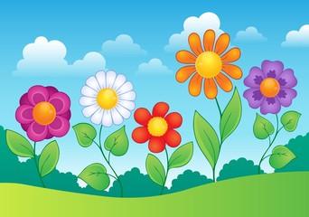 Flower theme image 9