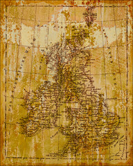 Metallbild - England