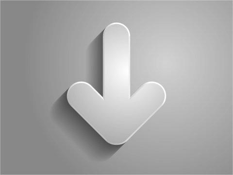 Vector icon arrow illustration