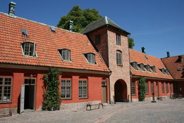 Schweden Halmstad Schloss