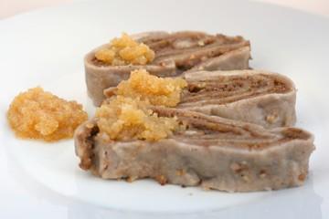 Traditional Slovenian cuisine: Ajdovi struklji