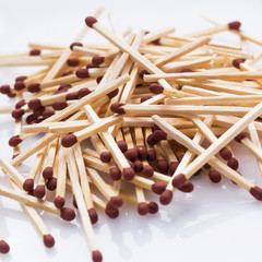 A lot of matchsticks