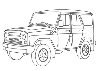 coloring pages for kids cars