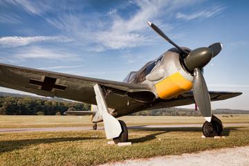 Focke-Wulf Fw 190 am Boden