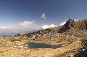 Seven Lakes Bulgaria- twin lake
