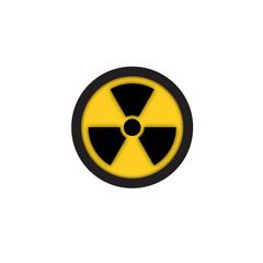 Radiation Hazard Symbol Sign