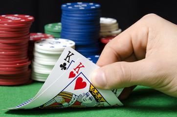 pair of kings in poker