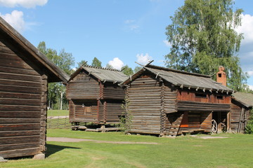 Siljansee Leksand Freilichtmuseum
