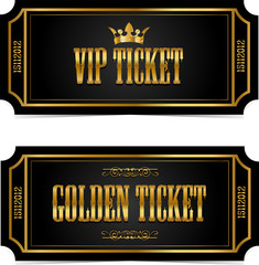 VIP and Golden tickets