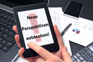Tablet  - Neue Perspektiven entdecken!