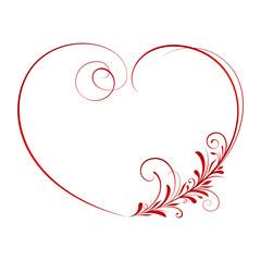 Ornate heart 3