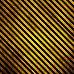 Old Grunge background with yellow and black lines