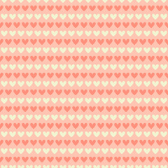 Romantic vector seamless pattern (tiling).