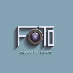 creative photo logo