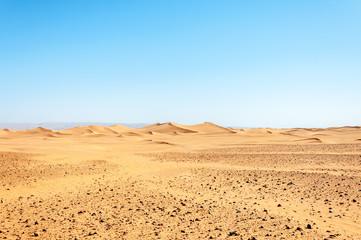 Sand dunes, Draa valley (Morocco)