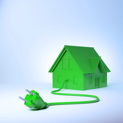 Green energy housing  concept