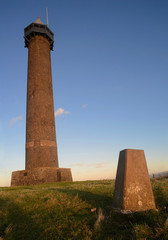 The Waterloo Monument in the Scottish Borders