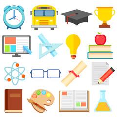 Flat Education Icon