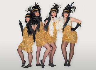 Charleston Show Tanz Szene