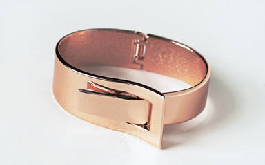Rose Gold Expandable Bracelet