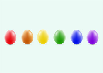 There are many nice pastel  easter eggs