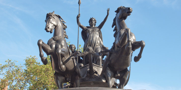 Boadicea monument London
