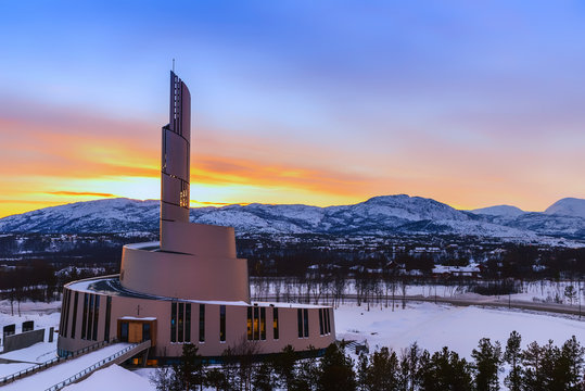 Northern Lights Cathedral, Alta, Norway