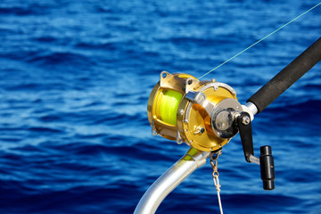 Deep sea fishing reel