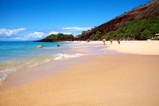 Big Beach Maui Hawaii