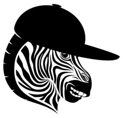 Zebra sign.