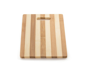 cutting board on white