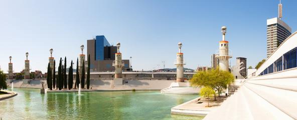 Panorama of Parc de l'Espanya Industrial