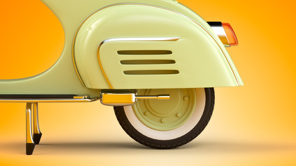 Photo Blinds Scooter Retro scooter
